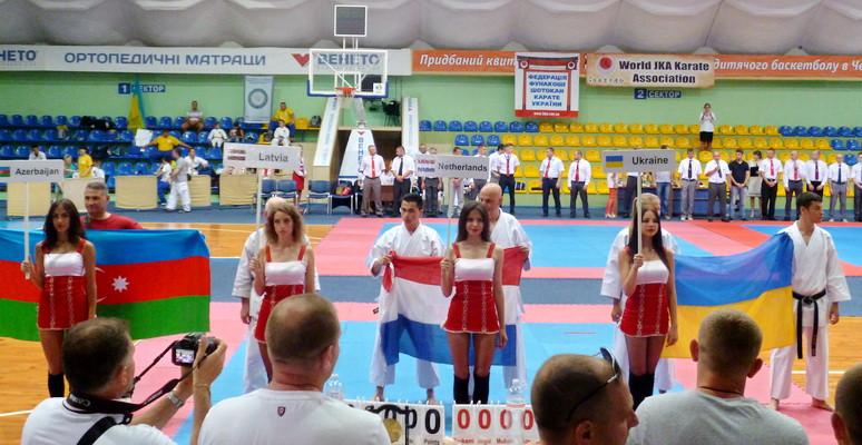 Ямпільчани вдало виступили на Чемпіонаті Європи з карате