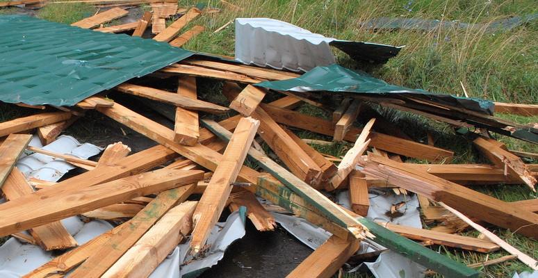 Буревій наглядно продемонстрував якість ремонтів дахів