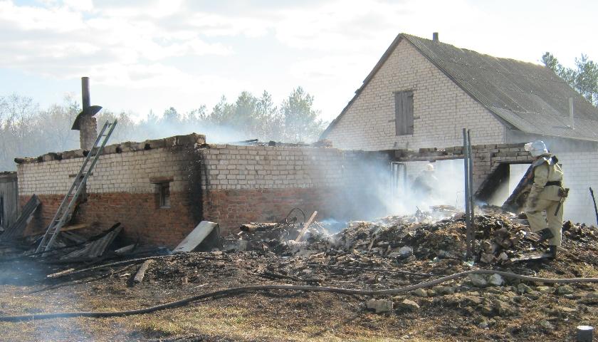 З початку року на Ямпільщині згоріло 3 будинки
