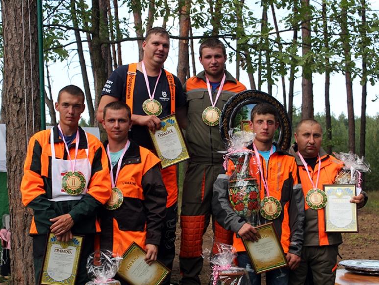 Свесянин переміг в обласному конкурсі вальників лісу