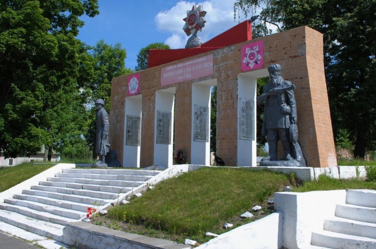 В Ямполі відремонтують сходи до Меморіалу