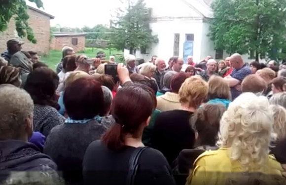 Свессяне протестуют против закрытия единственного терапевтического стационара